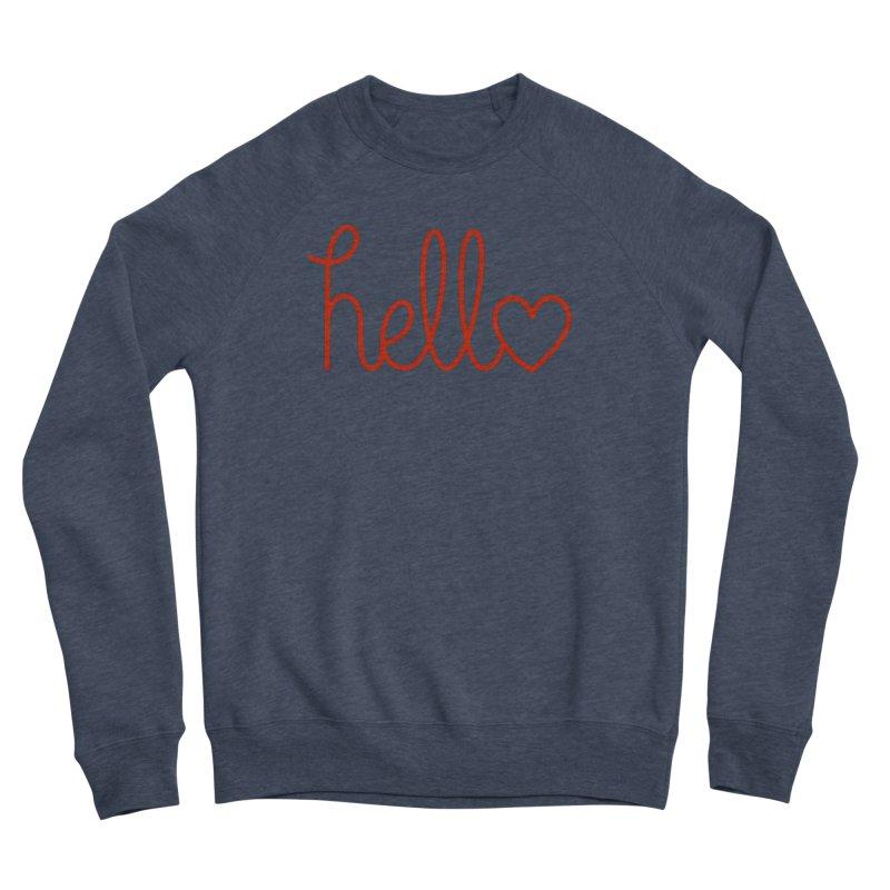Love Letters Men's Sponge Fleece Sweatshirt by Illustrations by Phil