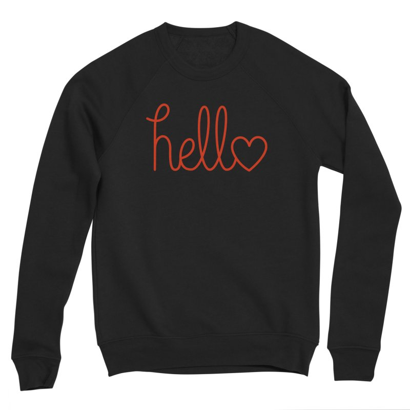Love Letters Men's Sponge Fleece Sweatshirt by Illustrations by Phil