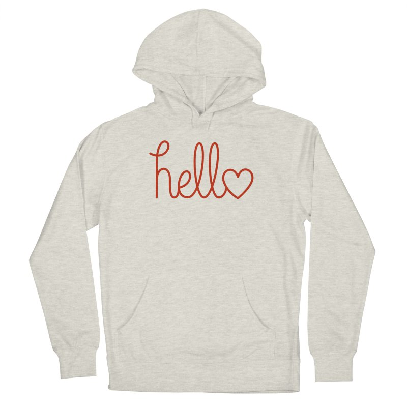 Love Letters Women's French Terry Pullover Hoody by Illustrations by Phil