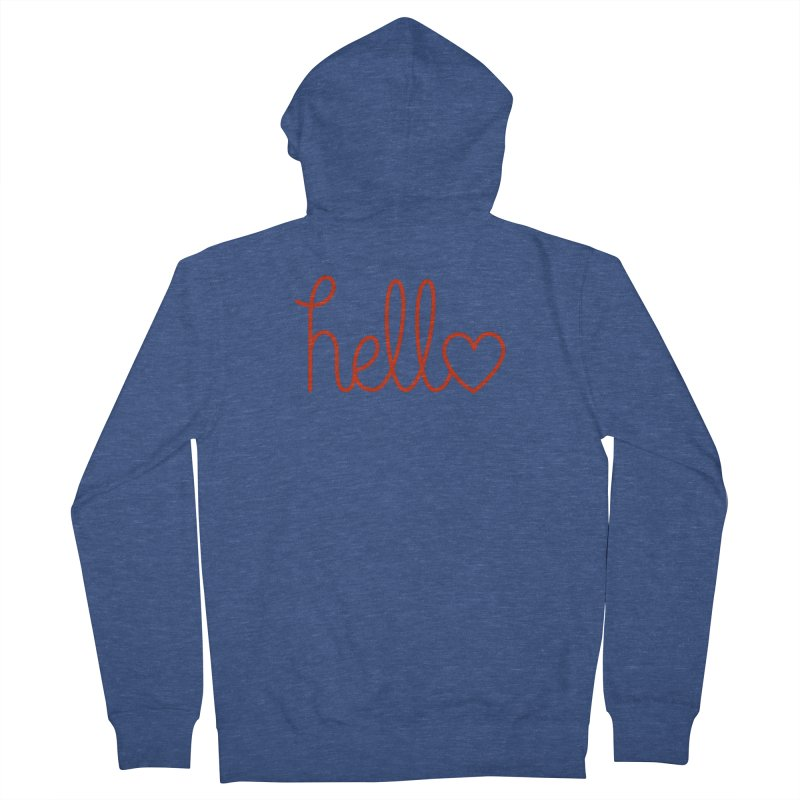 Love Letters Women's French Terry Zip-Up Hoody by Illustrations by Phil