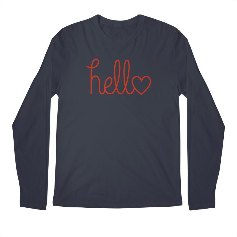 Love Letters Men's Regular Longsleeve T-Shirt by Illustrations by Phil