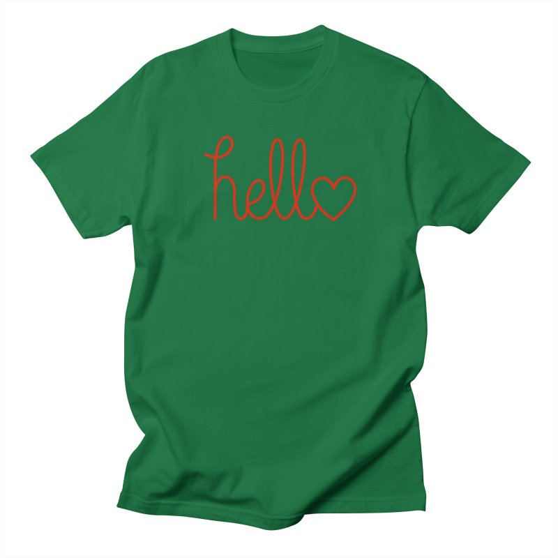 Love Letters Women's Regular Unisex T-Shirt by Illustrations by Phil