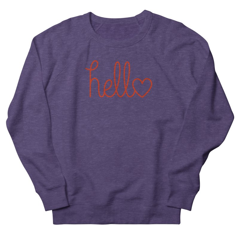 Love Letters Women's French Terry Sweatshirt by Illustrations by Phil
