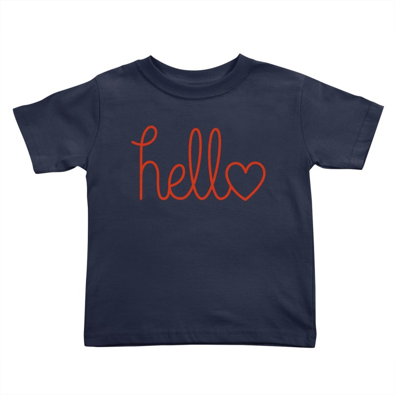 Love Letters Kids Toddler T-Shirt by Illustrations by Phil