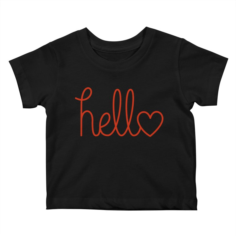 Love Letters Kids Baby T-Shirt by Illustrations by Phil