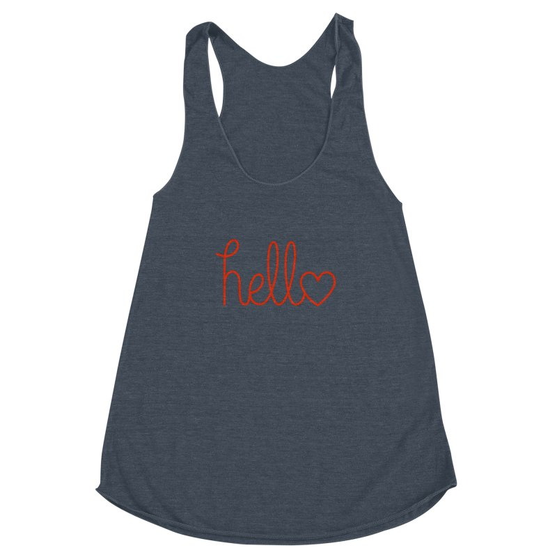 Love Letters Women's Racerback Triblend Tank by Illustrations by Phil
