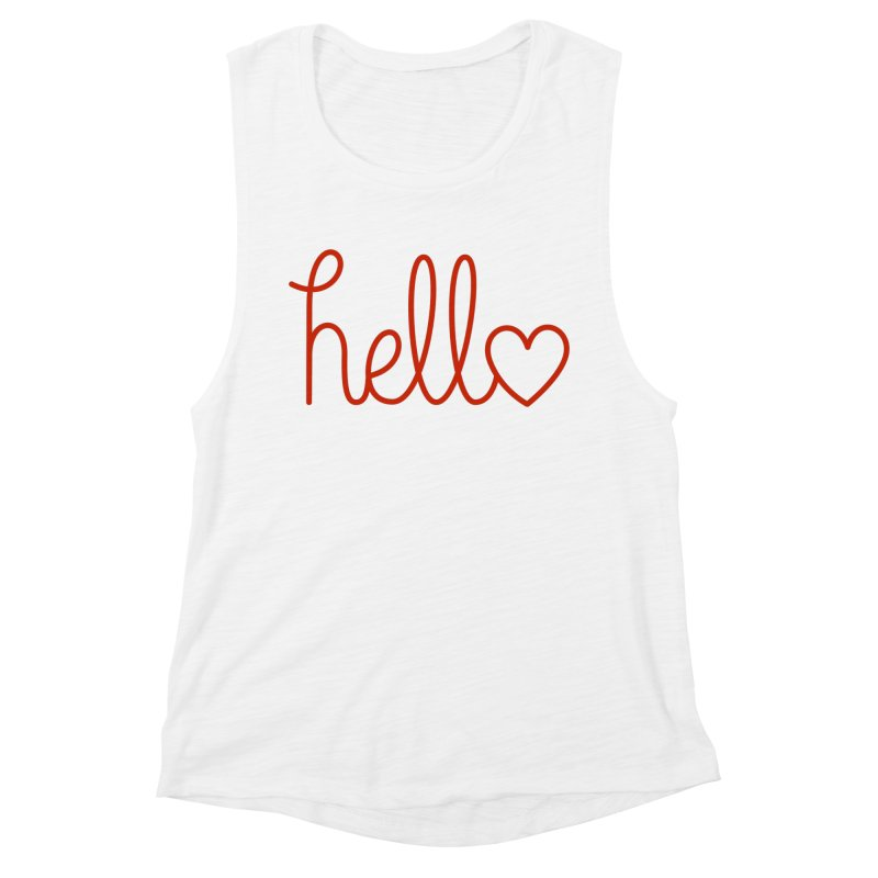 Love Letters Women's Muscle Tank by Illustrations by Phil