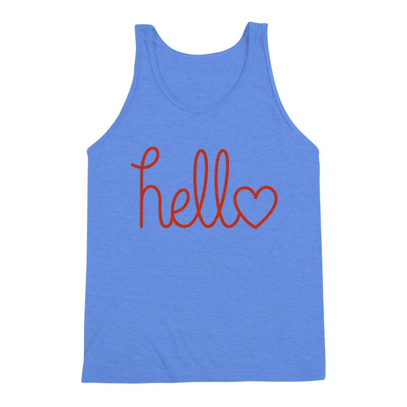 Love Letters Men's Triblend Tank by Illustrations by Phil