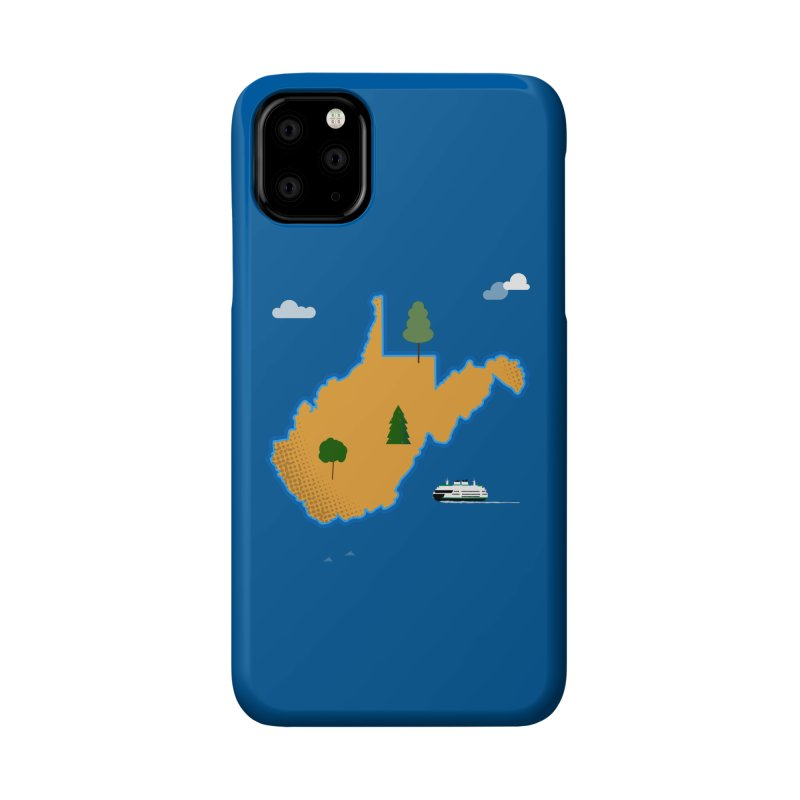 West Virginia Island Accessories Phone Case by Illustrations by Phil