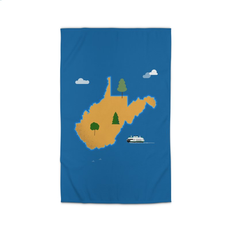 West Virginia Island Home Rug by Illustrations by Phil