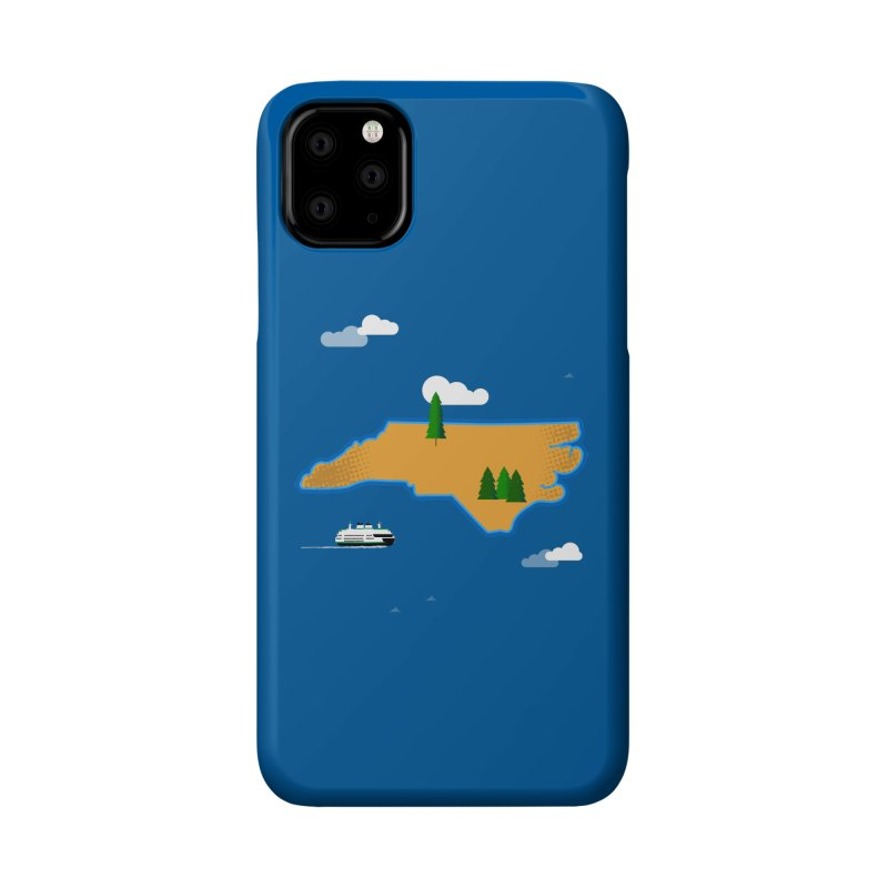 North Carolina Island Accessories Phone Case by Illustrations by Phil