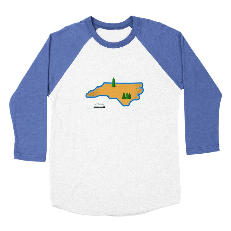 North Carolina Island Men's Longsleeve T-Shirt by Illustrations by Phil