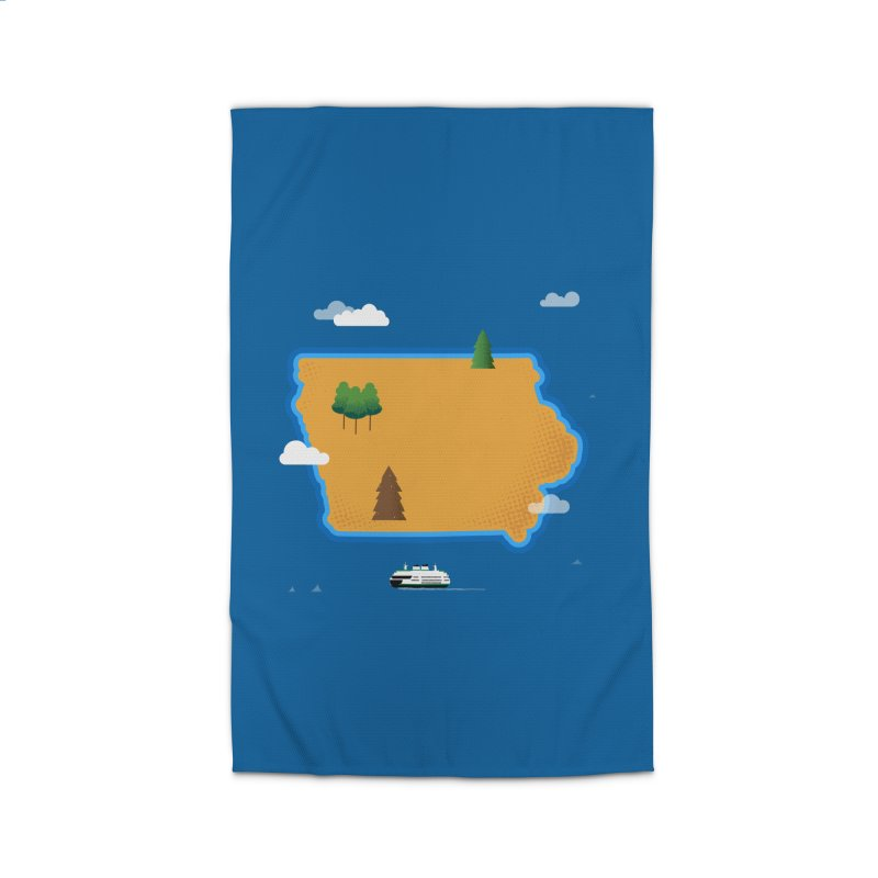 Iowa Island Home Rug by Illustrations by Phil