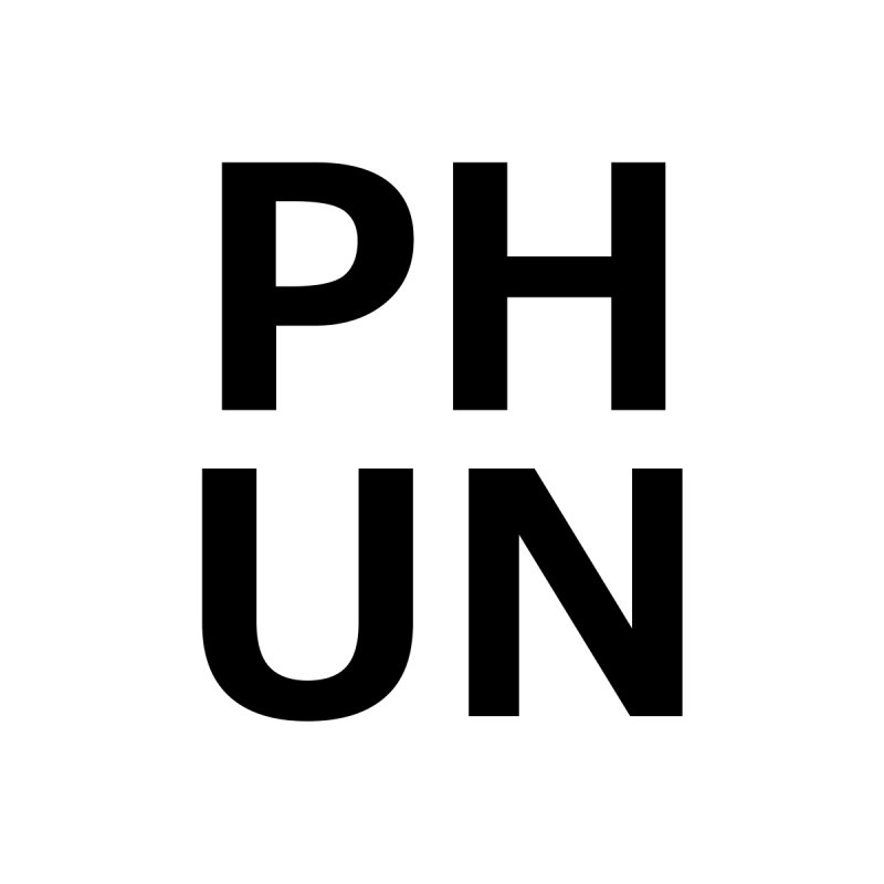 PHUN Lettered Collection by PHUN's Merch Shop