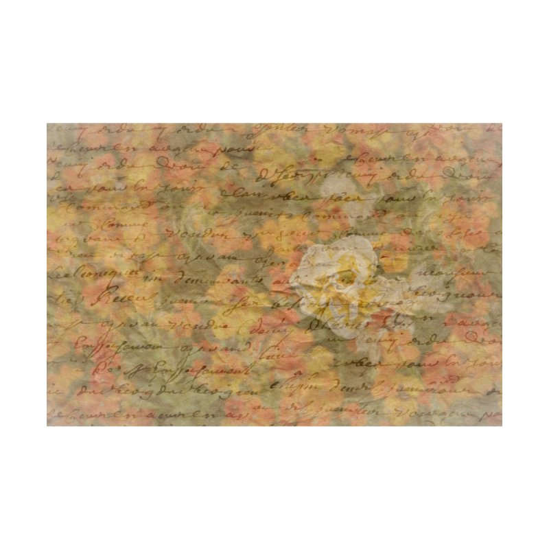 Bleached Flower Love Letter by Phototrinity's Wall Art Shop