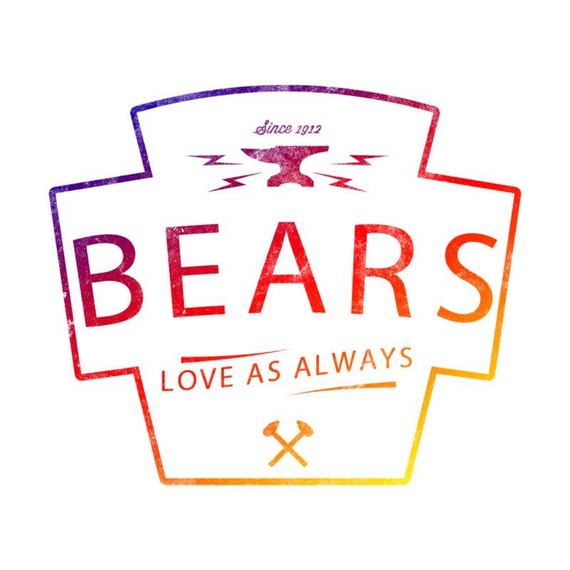Colourful Bears Love by Phototrinity's Wall Art Shop