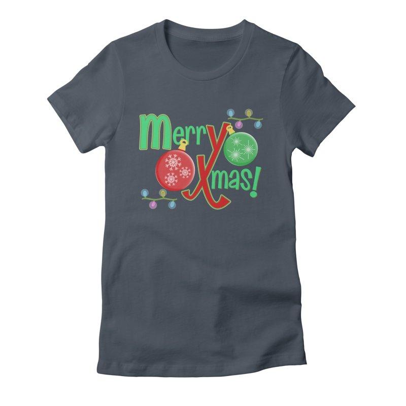 Merry Christmas! Women's T-Shirt by PickaCS's Artist Shop