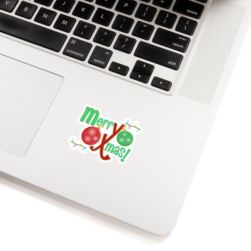 Merry Christmas! Accessories Sticker by PickaCS's Artist Shop