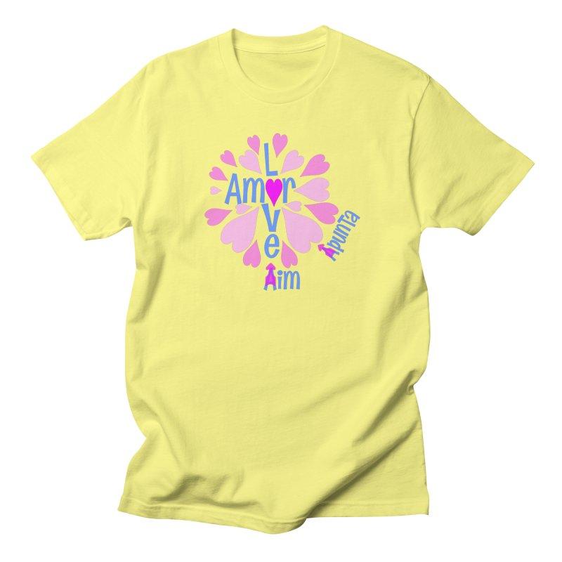 Aim Love in Men's Regular T-Shirt Lemon by PickaCS's Artist Shop