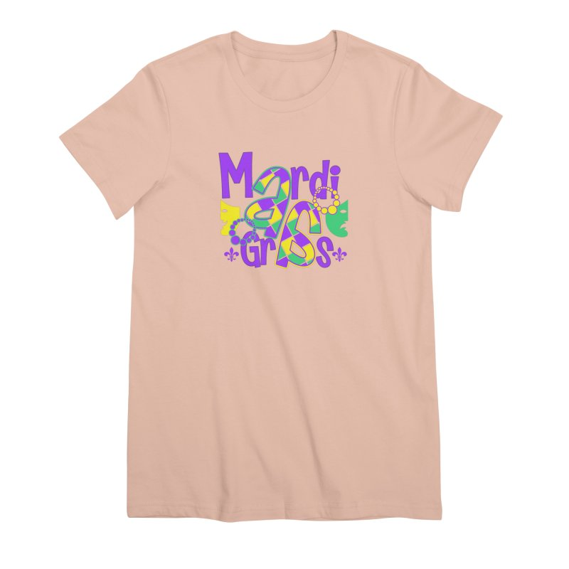 Mardi Fest Women's Premium T-Shirt by PickaCS's Artist Shop