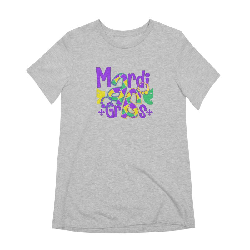 Mardi Fest Women's Extra Soft T-Shirt by PickaCS's Artist Shop
