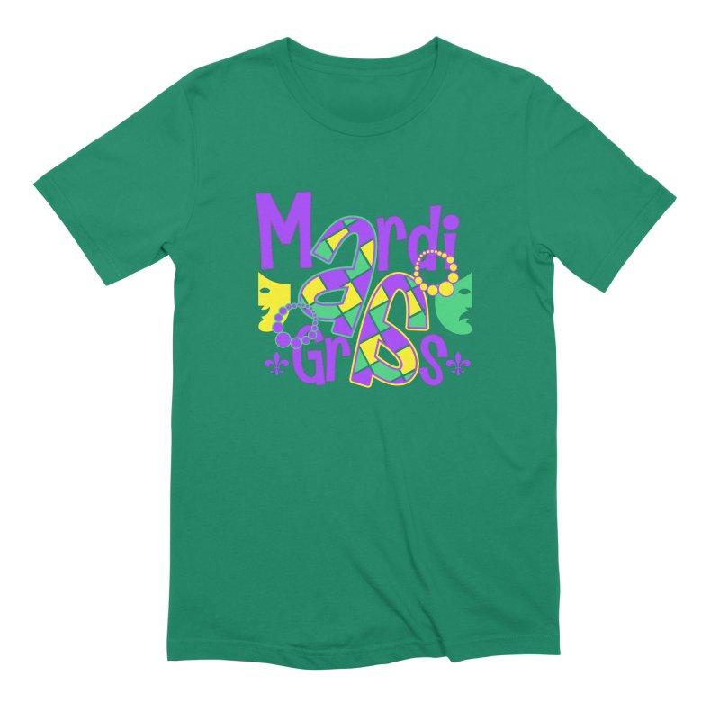 Mardi Fest Men's Extra Soft T-Shirt by PickaCS's Artist Shop