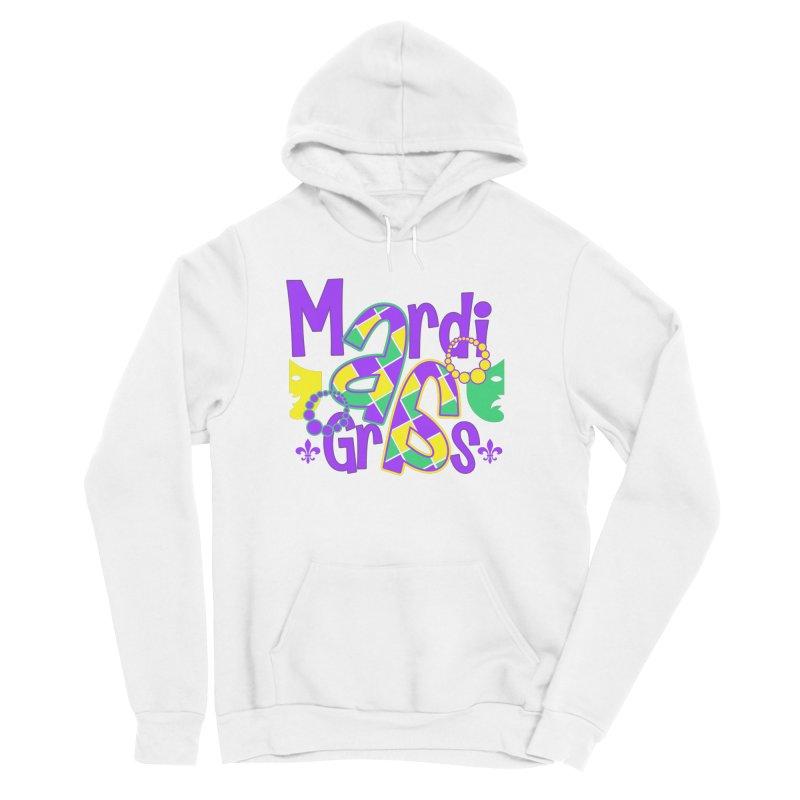 Mardi Fest Women's Sponge Fleece Pullover Hoody by PickaCS's Artist Shop