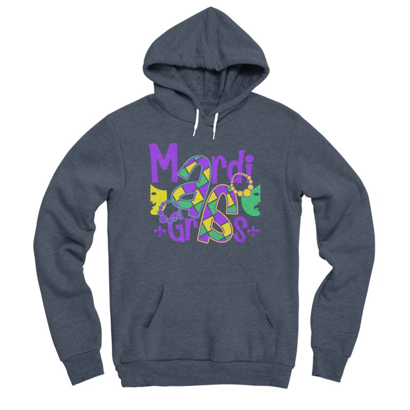 Mardi Fest Women's Sponge Fleece Pullover Hoody by PickaCS's Artist Shop