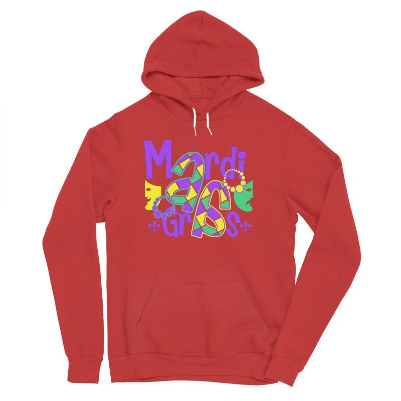 Mardi Fest Men's Sponge Fleece Pullover Hoody by PickaCS's Artist Shop
