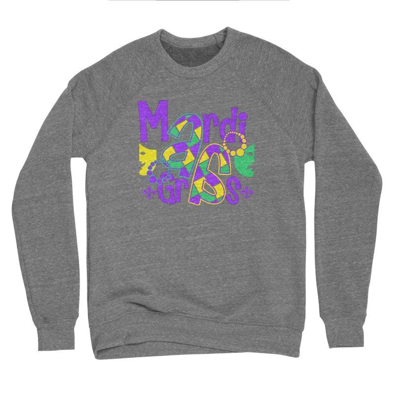 Mardi Fest Men's Sponge Fleece Sweatshirt by PickaCS's Artist Shop