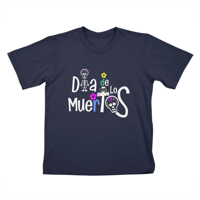 Dia de los Muertos Kids T-Shirt by PickaCS's Artist Shop