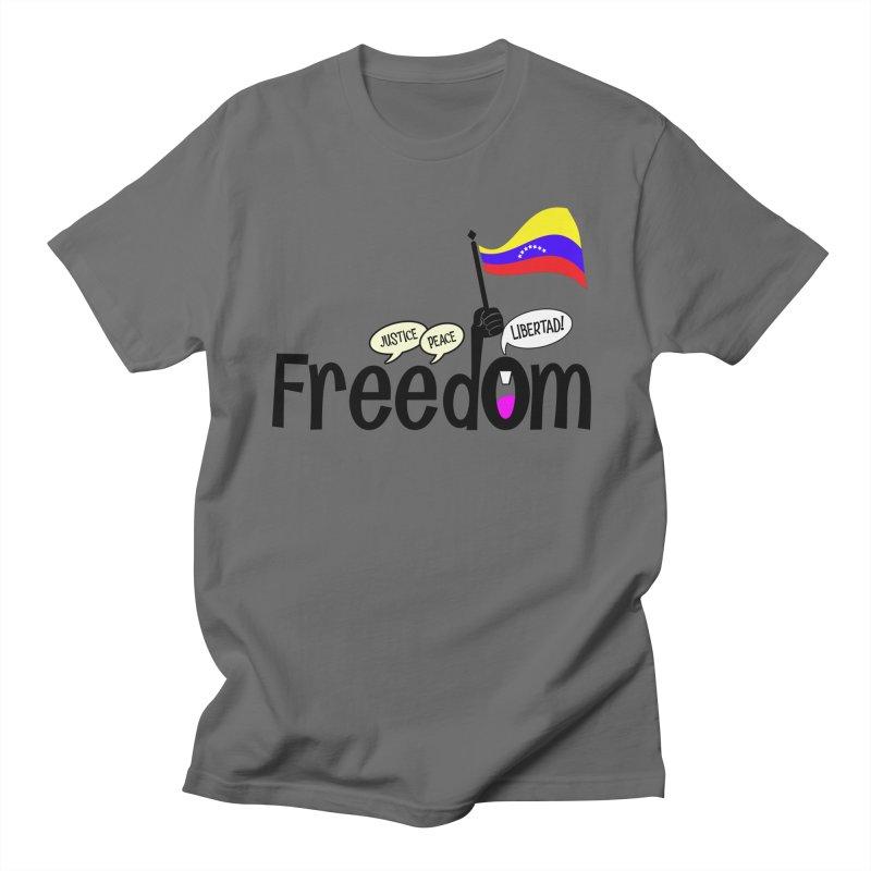 FREEdom! Men's T-Shirt by PickaCS's Artist Shop