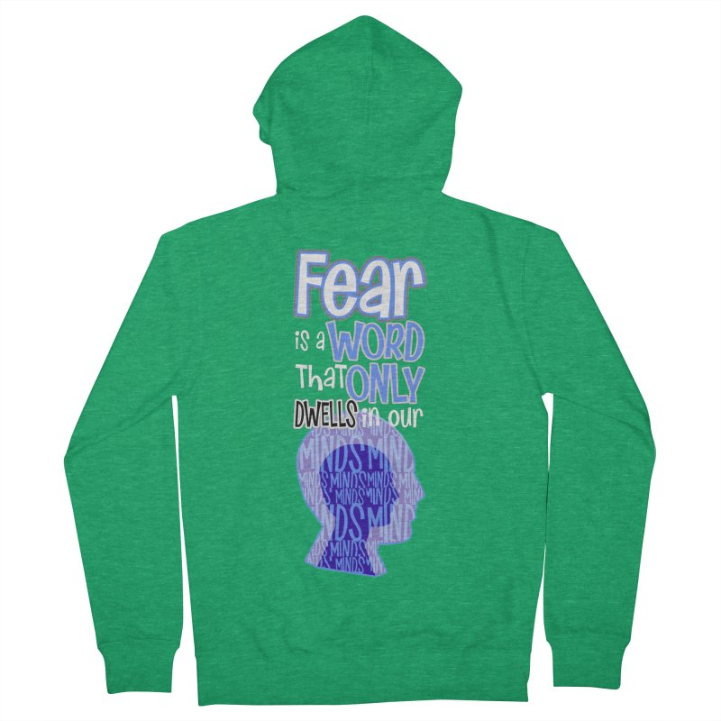 Fearless Women's Zip-Up Hoody by PickaCS's Artist Shop