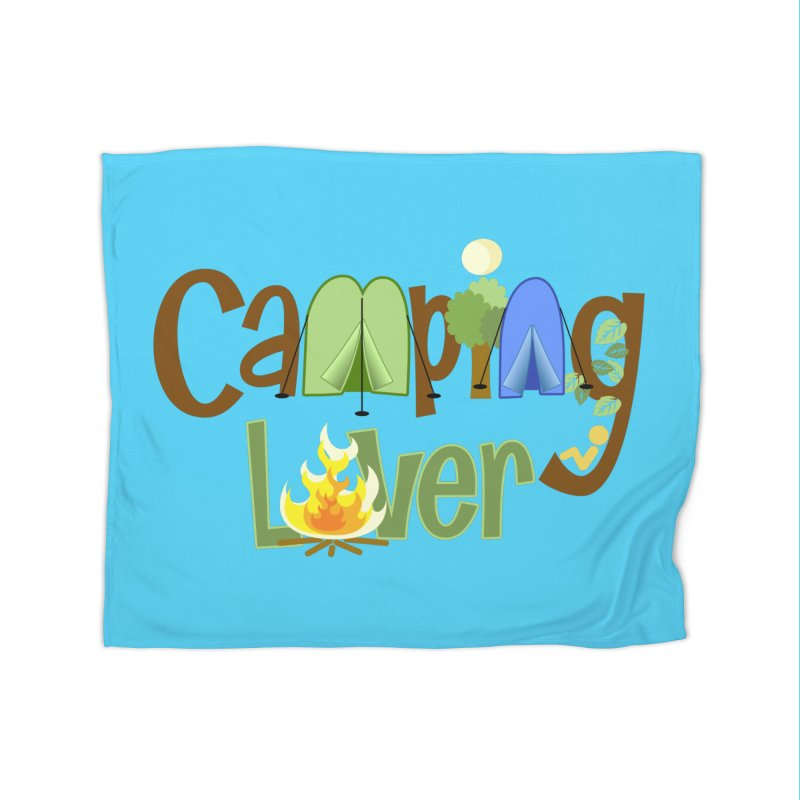 Camping Lover Home Blanket by PickaCS's Artist Shop