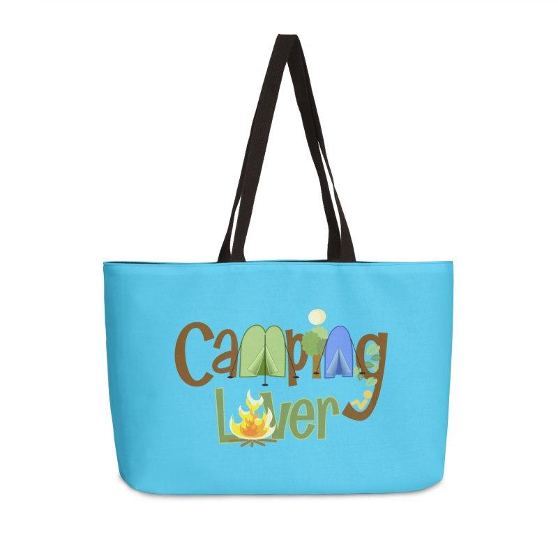 Camping Lover in Weekender Bag by PickaCS's Artist Shop