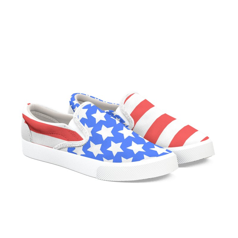 INdependence Women's Slip-On Shoes by PickaCS's Artist Shop