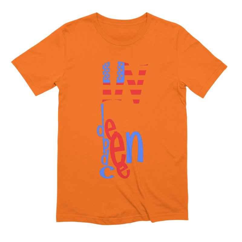 INdependence Men's Extra Soft T-Shirt by PickaCS's Artist Shop
