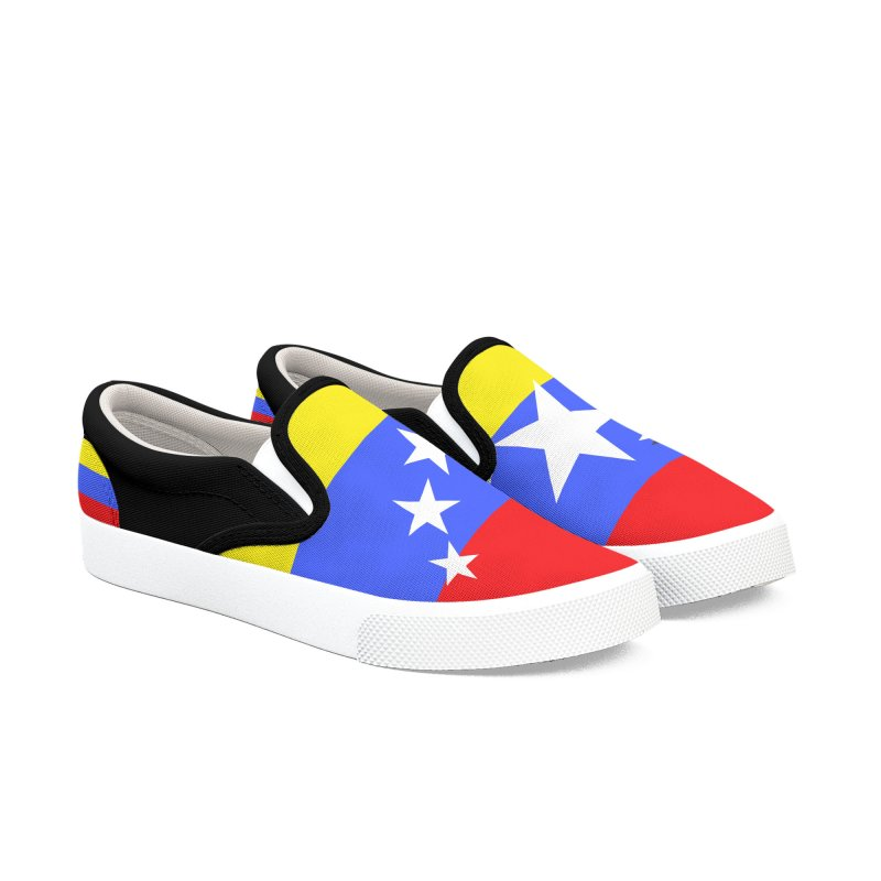 INdependencia Men's Slip-On Shoes by PickaCS's Artist Shop