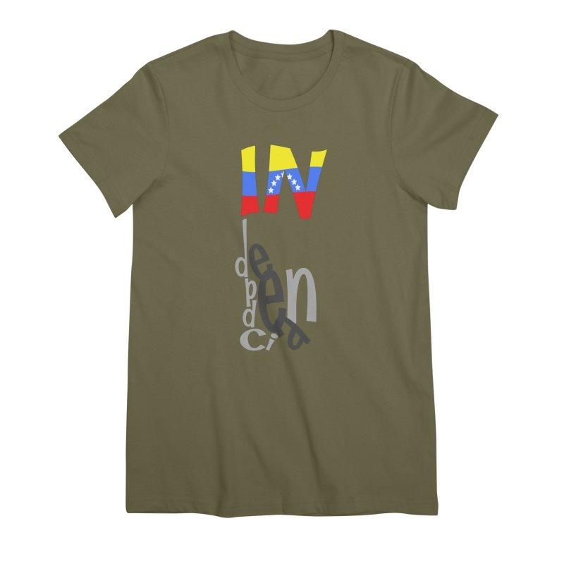 INdependencia Women's Premium T-Shirt by PickaCS's Artist Shop