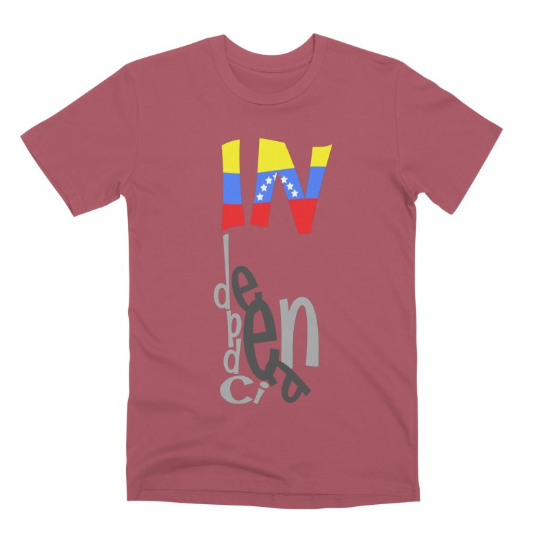 INdependencia Men's Premium T-Shirt by PickaCS's Artist Shop