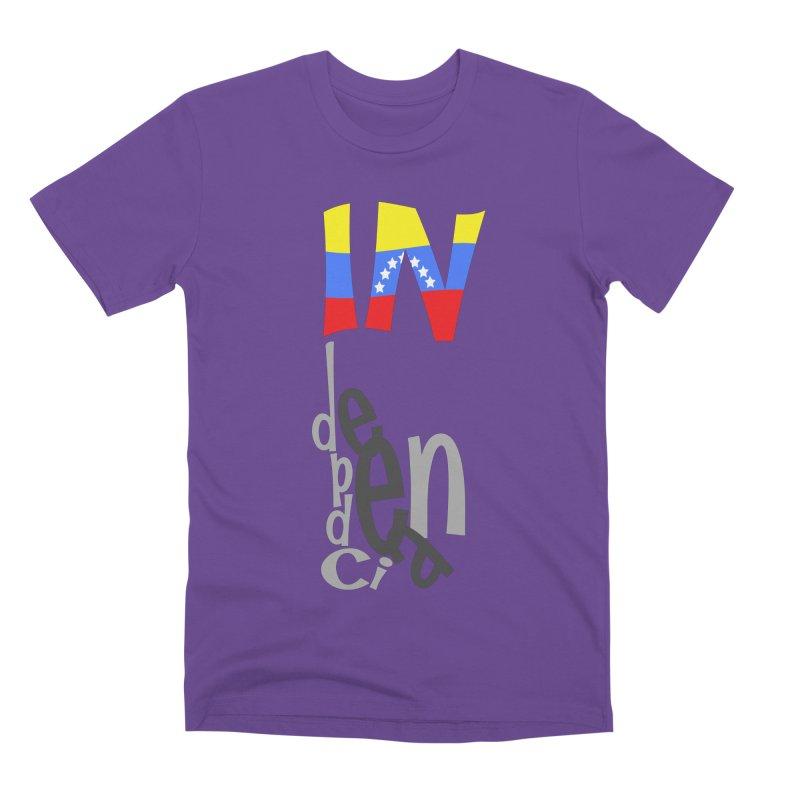 INdependencia Men's Premium T-Shirt by PickaCS's Artist Shop