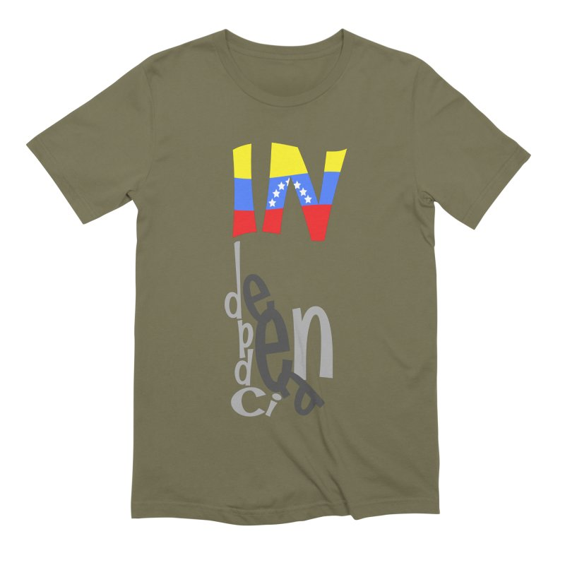 INdependencia Men's Extra Soft T-Shirt by PickaCS's Artist Shop