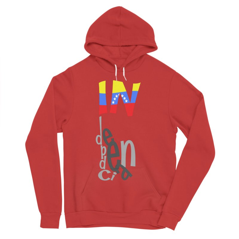 INdependencia Men's Sponge Fleece Pullover Hoody by PickaCS's Artist Shop