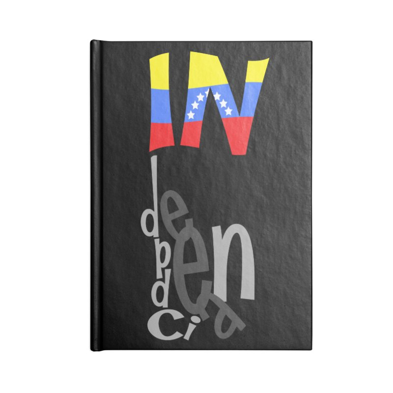 INdependencia Accessories Notebook by PickaCS's Artist Shop