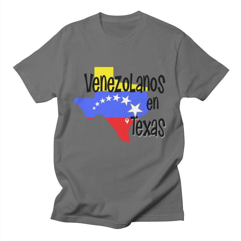 Venezolanos en Texas Men's T-Shirt by PickaCS's Artist Shop