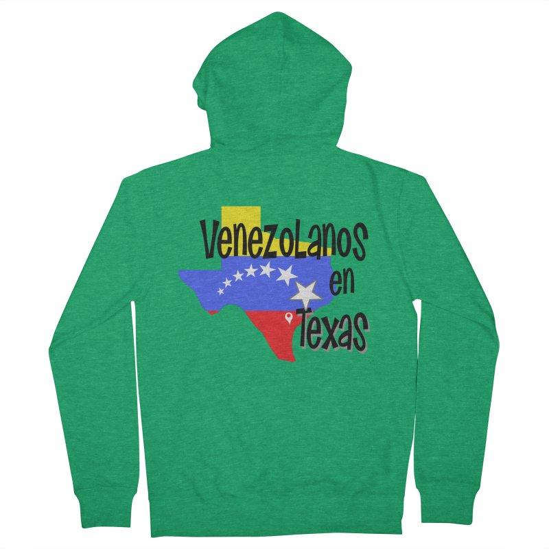 Venezolanos en Texas Women's Zip-Up Hoody by PickaCS's Artist Shop