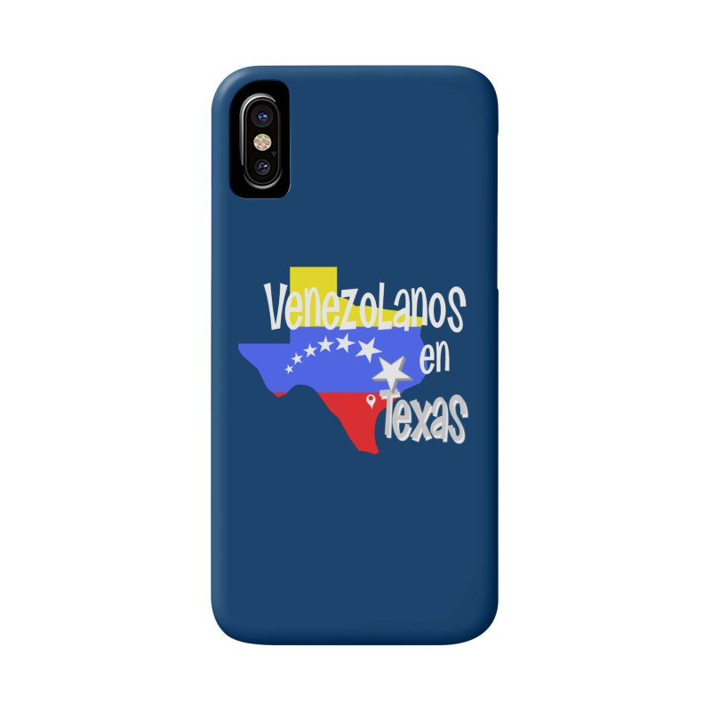 Venezolanos en Texas in iPhone X Phone Case Slim by PickaCS's Artist Shop