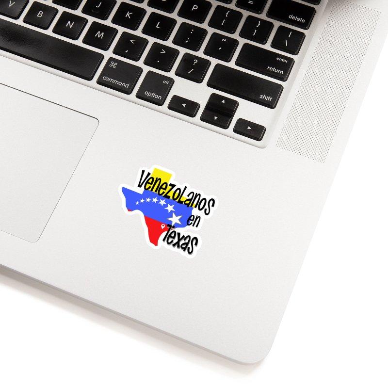 Venezolanos en Texas Accessories Sticker by PickaCS's Artist Shop