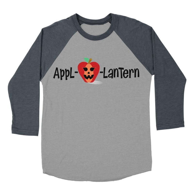 Appl-o-lantern Women's Baseball Triblend T-Shirt by PickaCS's Artist Shop