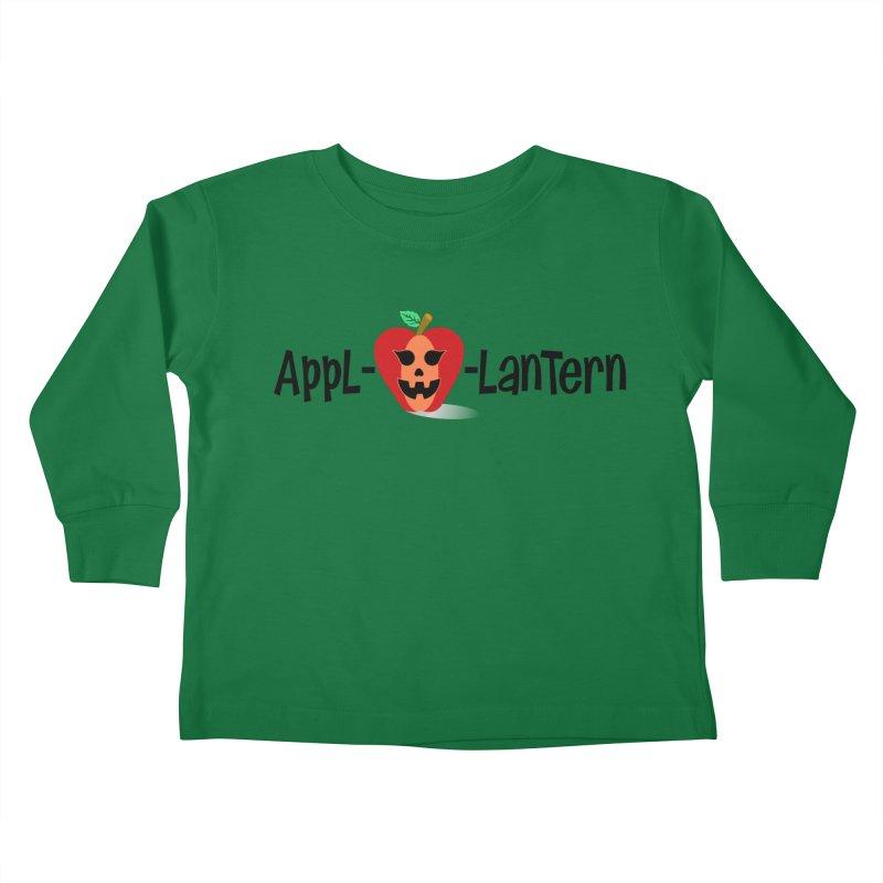 Appl-o-lantern Kids Toddler Longsleeve T-Shirt by PickaCS's Artist Shop